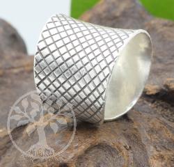 Ring Silber 925 Mesh
