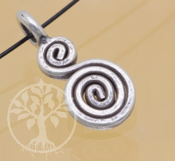 Silver Beads Meander Sterlingsilver 925 1x16 mm