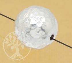Silberperle Kickers 15mm Silber925 Schmuckperle handgefertigt es Schmuckzubehörteil