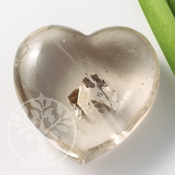 Smoky Quartz Heart 40 mm AA-Quality