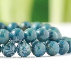 Apatite blue Bracelet ball 8mm