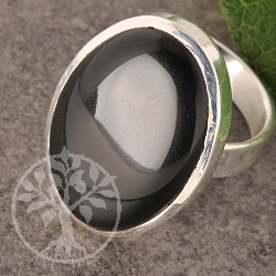 Onyx Silverring Silver Ring 925