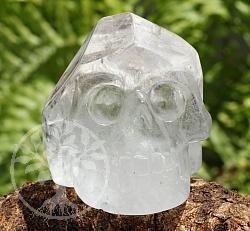 Totenkopf Kristallschädel Bergkristall A/A+ 40/49mm Edelstein Schädel