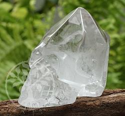 Totenkopf Kristallschädel Bergkristall A/A+ 40/49mm