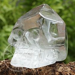 Totenkopf Kristallschädel Bergkristall A/A+ 40/49mm Pyramidal