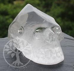 Steinschädel  Kristallschädel Bergkristall A/A+ 40/49mm