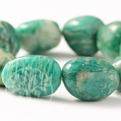 Amazonite bracelet tumbled Stone 20mm