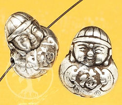 Silver Boys chinese happiness sterling silver 925 14x12mm
