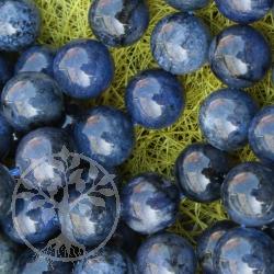 Dumortierite Ball Beads 8mm