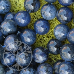 Dumortierite Ball Beads 12mm A