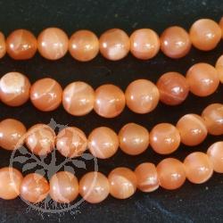 Mondstein Perlen Strang 4 mm AA Qualität