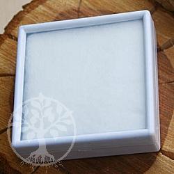 Acryl Kästchen 6 cm weiß