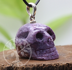 Charoit Pendant Small Skull 24x15mm 925