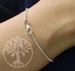 Bracelet Silver 925 length 16.5cm