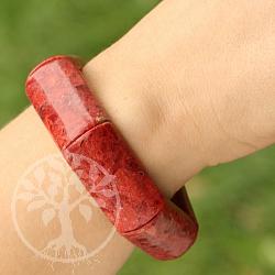Koralle Armband Armreif