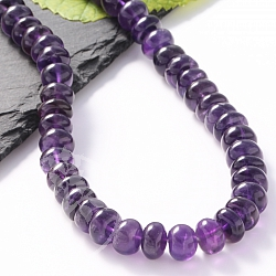 Amethyste Beads AA-Quality Button 9mm