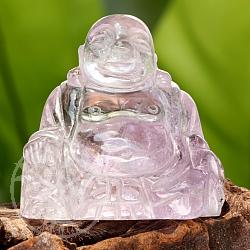 Buddha aus Amethyst 50X49mm Unikat 14203