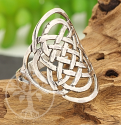 Silver Rings Celtic Knot Steringsilver 925 28mm