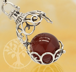 Harmony Ball Celtic Pendant Sterlingsilver 925 20mm