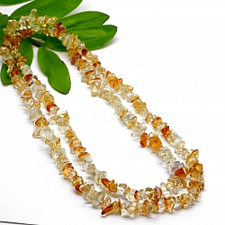 Citrine Necklace 70cm