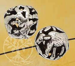 Silber Perle 925er Tierkreiszeichen Büffel 10mm