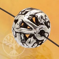 Silber Perle 925er Tierkreiszeichen Schwein 10mm