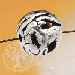 Silver pearl 925 zodiac goat 10mm