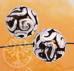 Silver Bead Zodiac Year Of The Snake Chinese Zodiac 925 10mm