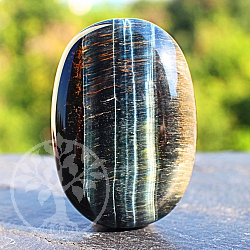 Blue Tigereye Stone 45*30*16mm