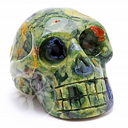 Rhyolite Skull 02 about 31*31mm
