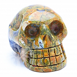 Rhyolite Skull 03 about 31*31mm