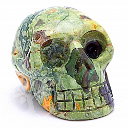 Rhyolite Skull 04 about 31*31mm