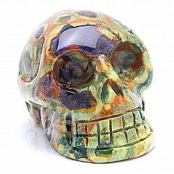 Rhyolite Skull 05 about 31*31mm