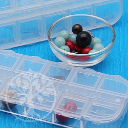 Beads Box clear optic 12 cases 49x14x127mm