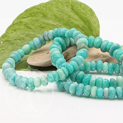 Amazonite Russia Bracelet Button Gemstone Beads