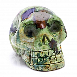 Rhyolite Skull 07 about 31*31mm