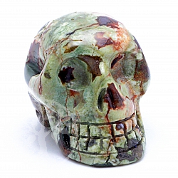 Rhyolite Skull 09 about 31*31mm