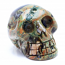 Rhyolite Skull 10 about 31*31mm