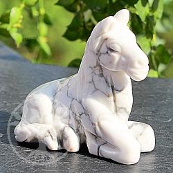 Pferd aus Magnesit Stein 51*32*51mm