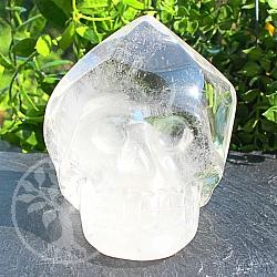 Bergkristall Schädel Edelstein 74*72*73mm