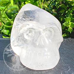 Bergkristall Kristall Steinschädel  Edelstein 59*63*95mm