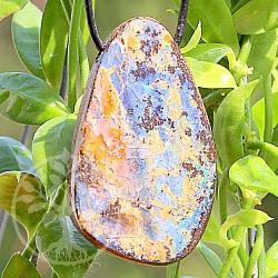 Opal Stein Anhänger 38*25mm