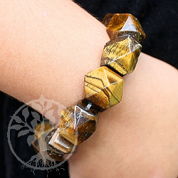 Tiger Eye Bracelet 15mm