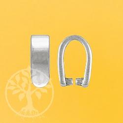 Silberöse Einhänger Fancy 925 Silber 7x2,5mm