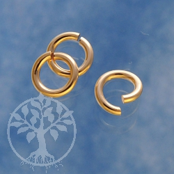 Gold Ring Offen 4.8x0.9mm Gold Filled 14K 1/20