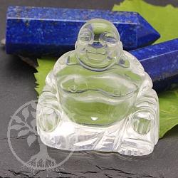 Bergkristall Buddafigur 50 mm Edelstein Buddha aus natürlichem Kristall