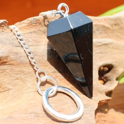 Tourmaline Pendulum Pendants Stone 40 mm