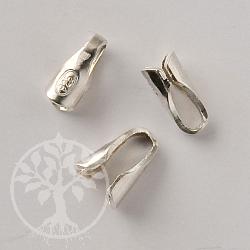 Lederband Endkappen für 1.5mm Lederbänder zum Kleben Silber 925