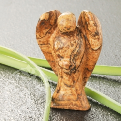 Picture Jasper Gemstone Angel Shape