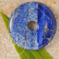 Lapislazuli Edelstein Donut 50mm A